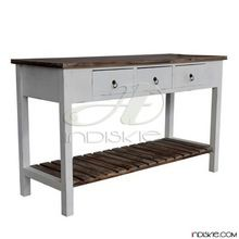 Vintage Wooden Shabby Chic Furniture Console Table