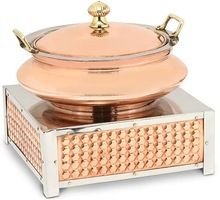 Copper Round Chafing Dish