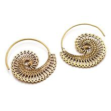 Beautiful Spiral Earrings