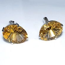 Citrine Gemstone Cufflink