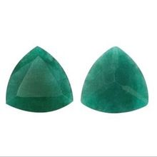Natural Dyed Emerald Gemstone