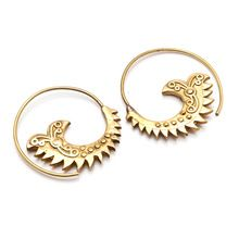 Swirl Earrings,
