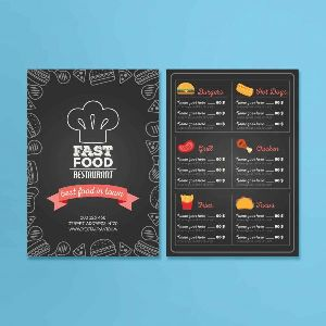 Table Menu Printing Services