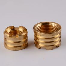 ROUND HEAD FORGED BRASS PPR INSERTS
