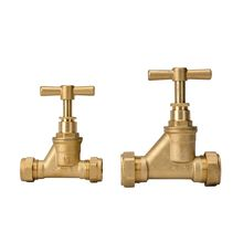 Water Male Thread Brass Stop Valve