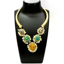 Multi-Color Solar Quartz Pearl Kissed Necklace