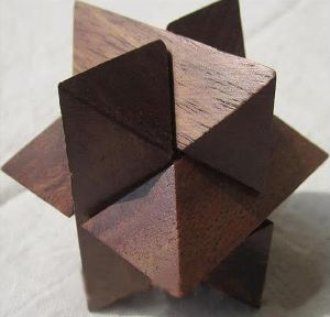 Handcrafted Wooden Puzzle