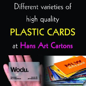 Plastic Cards Printing Services