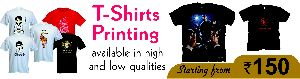 T-Shirt Printing Services 01
