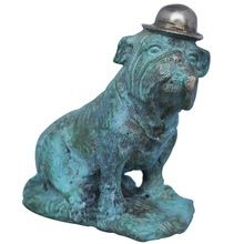 Brass Animal Sculpture Dog
