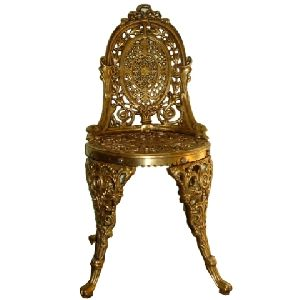 Brass metal Chair