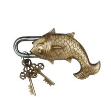 Fish shape animal Design door pad Lock