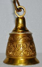 Handmade Brass Metal Temple hanging bell