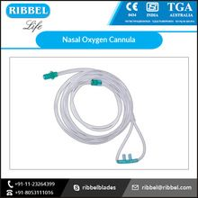 Disposable High Flow Colored Oxygen Nasal Cannula