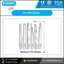 Stainless Steel Surgical Mini Blade
