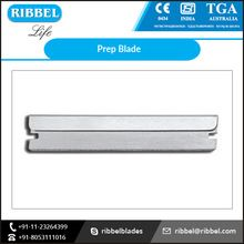 Straight Stainless Steel Prep Blade