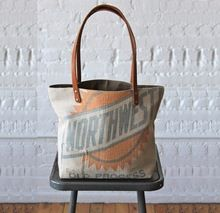 Feed Sack Canvas Tote Bag