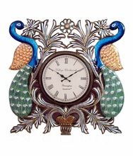 Peacock Handcrafted Analog Wall Clock