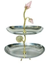 STAINLESS STEEL FRUIT WEDDING CAKE STAND