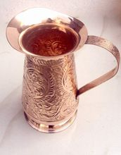 TRADITIONAL SOLID COPPER WATER JUG