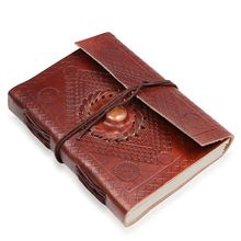 Leather Journal handmade paper diary