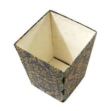 multi colour recycle paper handmade paper dust bin box