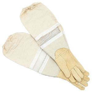 Beekeeping Leather Gloves