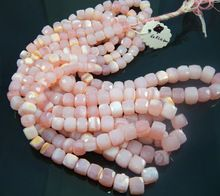 Natural Faceted opal Box Beads