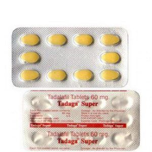 Tadaga Super 60mg Tablets