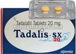 Tadalis SX- 20mg Tablets