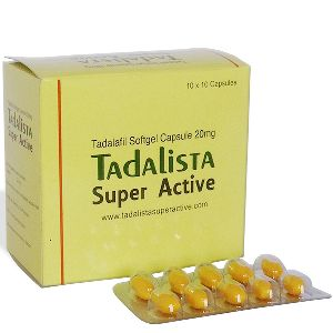 Tadalista Super Active 20mg Tablets