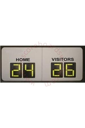 4 Digit Hockey Self Supporting Scoreboard