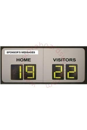Multipurpose Self-Supporting Scoreboard
