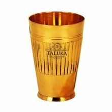 brass water tumbler