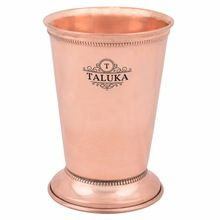 copper julep bar glass