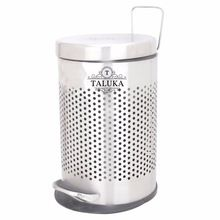 pedal bin stainless steel dustbin