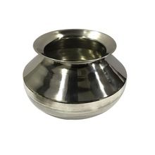 Stainless Steel Biryani Cooking Pot