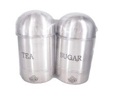 Stainless Steel Coffee Tea Sugar Canister