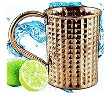 stoli vodka copper mug
