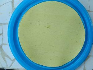Green Garlic Papad