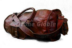 Leather Duffel Bag 01