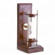 wooden sand timer hourglass