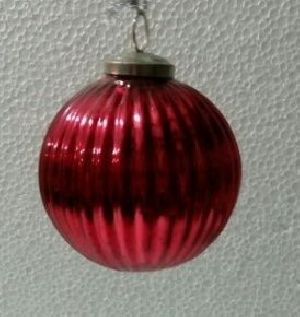 CH127 Christmas Hanging Glass Ball