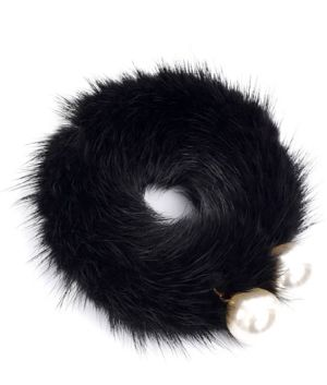 Rabbit Fur Elastic Band 02