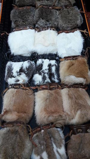 Rabbit Fur Hand Bag 02