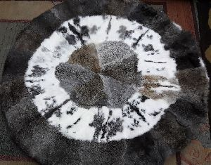 Rabbit Fur Rug 05