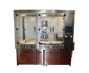 Vial Powder Filling Stoppering Machine