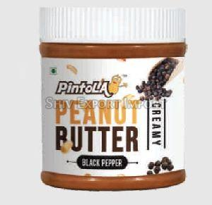 Black Pepper Peanut Butter