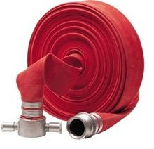 flexible black PVC lining fire hose