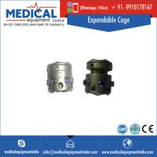 Orthopedic Spinal Expandable Titanium Cage Implant